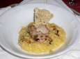 034.Parmigiano-Reggiano and Saffron Risotto with Roasted Quail
