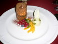 072.Tiramisu with Pistachio Semifreddo and Fresh Fruit