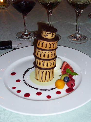 100.チョコレートムース