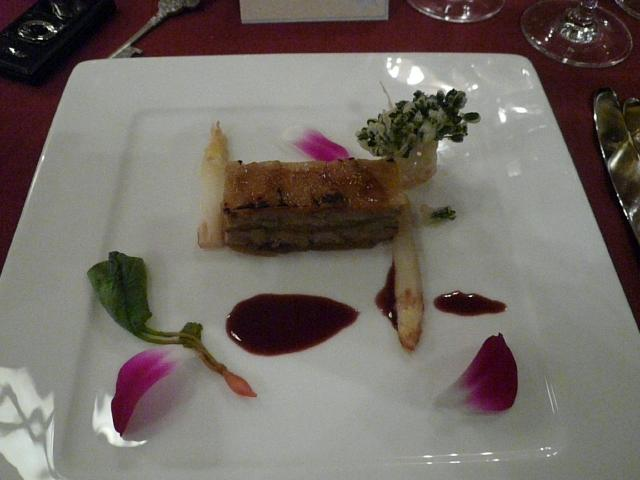 030.Foie Gras and Apple Napoleon
