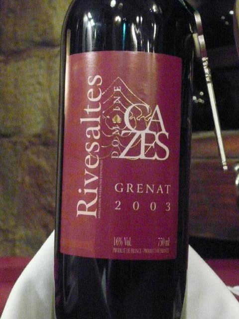 080.Rivesaltes Grenat (Domaine Cazes)
