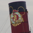 SSコロンビア号の真ん中の煙突