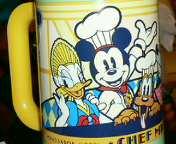 シェフミッキーのカップ