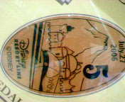 ディズニーシーSt.のメダル