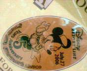 ディズニーシーSt. のメダル2