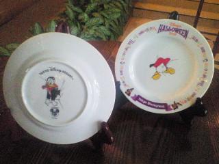 ドナルドの絵皿