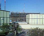 ディズニーランドホテル建設中