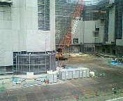 TDLホテル建設中