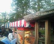 ホレイショスクエアのポップコーンワゴン