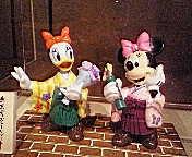 卒業式なミニー&デイジー