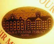 パーム&ファウンテンテラスのスーベニアメダル