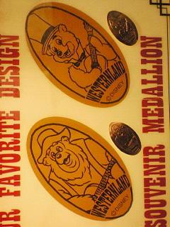 ウエスタンウェアのメダル
