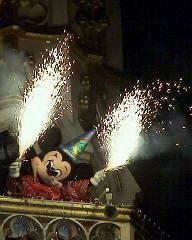 魔法使いの弟子ミッキー