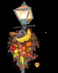 ケープコッドの街灯