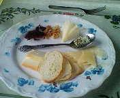ザンニビーニ・4種チーズ盛合せ