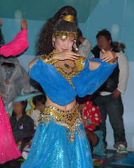 アラビアンなダンサー