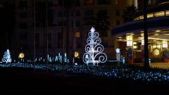 アンバサダーホテルのクリスマス飾り点灯