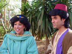ジャスミン王女とアラジン