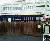 コロンビア号船尾