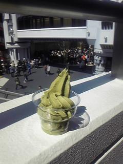 グリーンティーソフトクリーム