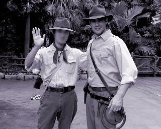 インディアナ・ジョーンズ教授とその友人