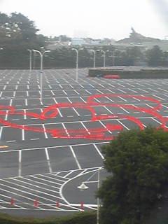 ただ今のR2駐車場