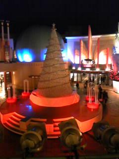 セレブレーションプラザのクリスマスツリー