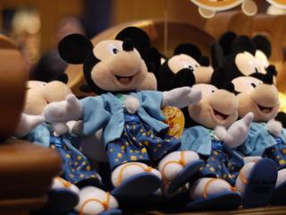 着物ミッキー人形