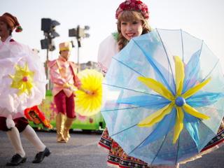傘が薄手小型に