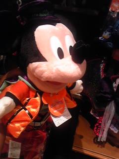 ハロウィン・ミッキーのマペット