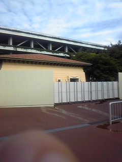 東京ディズニーシーの元駐輪場