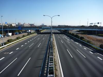 国道357号線、首都高速湾岸線