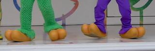 ホセとパンチートの足