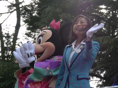 2012年東京ディズニーリゾート・アンバサダーの横田恵理子さん