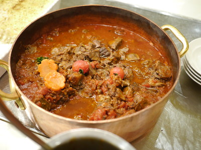 牛脛肉とオリーブのドーブ