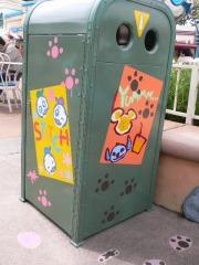 トゥーンタウンのゴミ箱