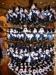 ガイドツアーなミッキー、ミニー人形