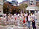 ウォーターフロントパークの噴水