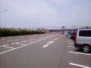 TDL駐車場 Dエリア最後尾