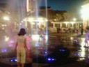 夜のウォーターフロントパーク