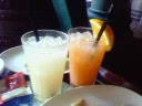 カンパリオレンジとディタグレープフルーツ