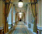 ミラコスタの廊下