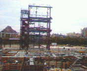 タワー・オブ・テラー建設中