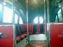 無人のシャトルバス