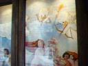 ヴァレンティーナズ・スウィートの窓飾り