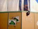 タワーオブテラー工事中の壁にもあるポスター