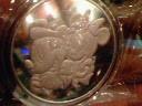 ミッキー&ミニーのメダル