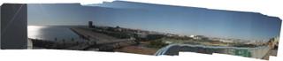 R7の7階からのパノラマ写真